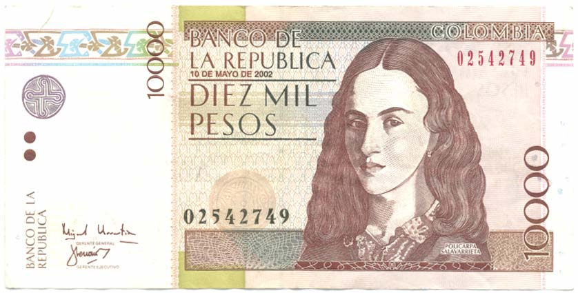 10000 Colombian Peso Is Roximately 3 19 Usd